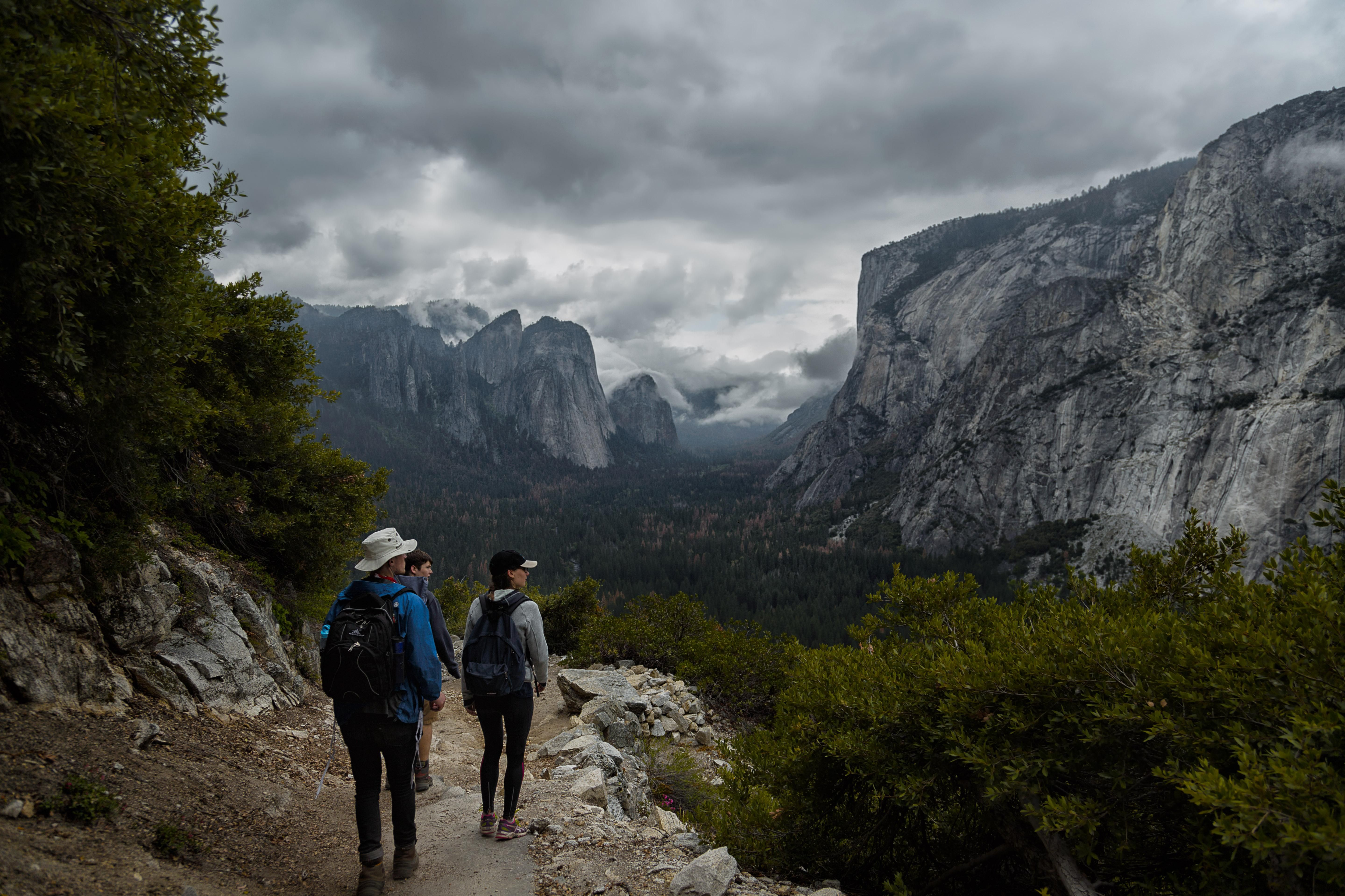 Thunderstorms were forecast the weekend we had planned to visit Yosemite we went anyway and it may be the best trip I have ever been on.