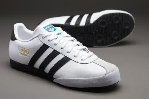 Sepatu Sneakers Adidas Originals Bamba White Black Gold Sneakers