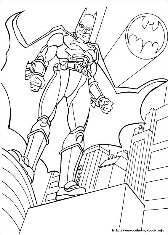 Batman coloring page   Craft: Free Coloring Pages ...