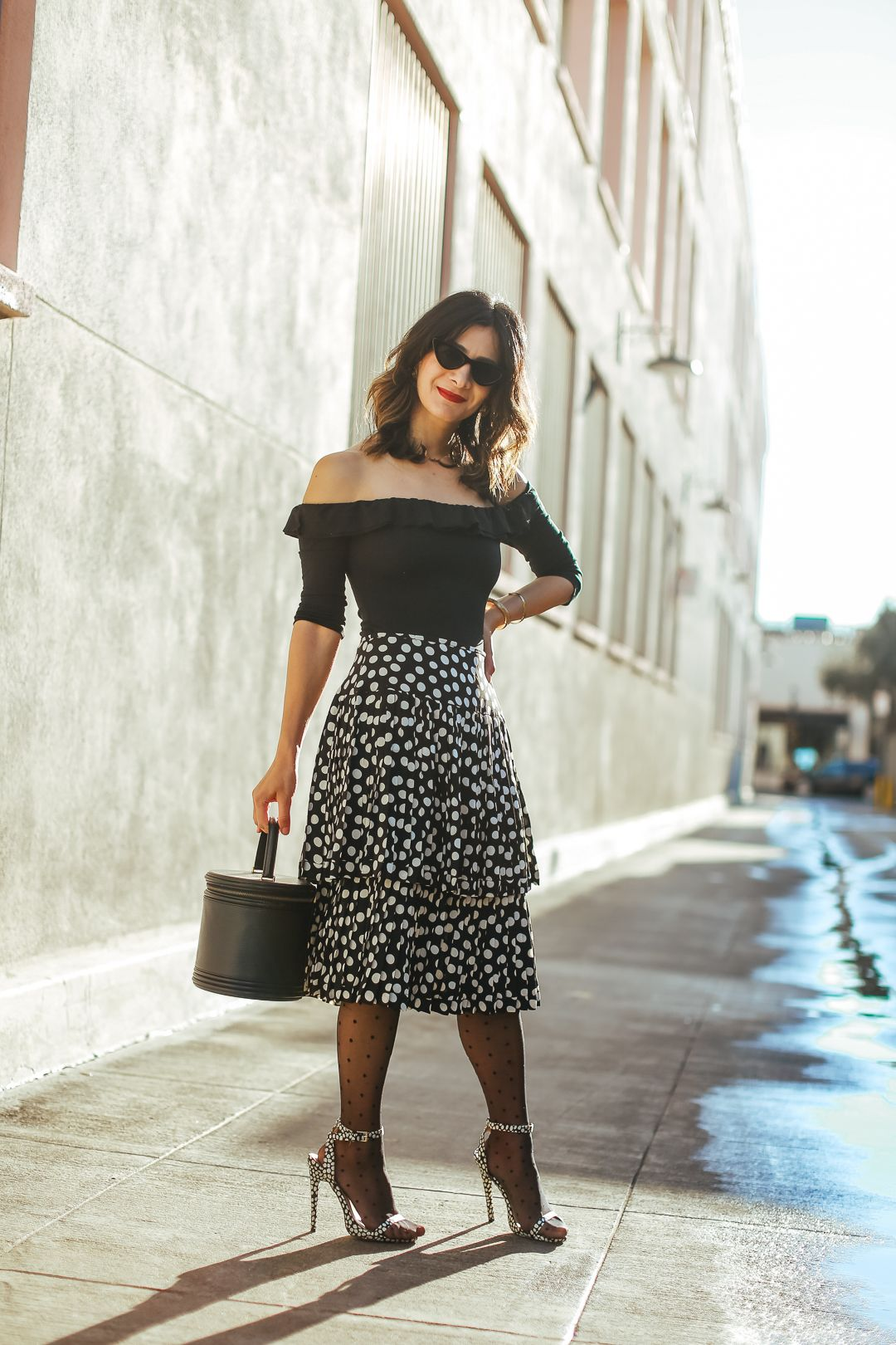 c7fa2fa352 Gimme All the Dots | VINTAGE MODERN STYLE | Fashion, Outfits, Polka ...
