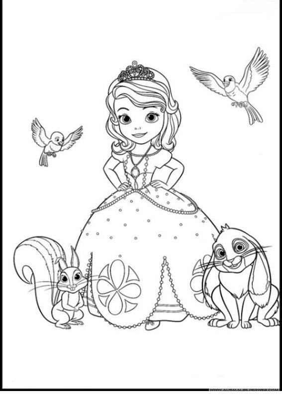 Ausmalbilder Sofia Die Erste 21 Jpg Disney Prinzessin Malvorlagen