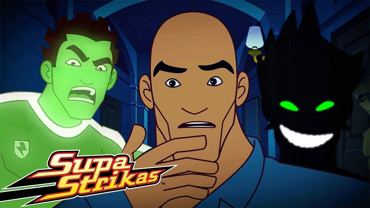 Supa Strikas Halloween Own Ghoul Full Episode Soccer Cartoons For Kids Football Youtube In 2020 Football Kids Cartoon Kids Cartoon