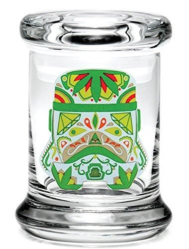 "Sugar Trooper Pop Top Jar - Various Sizes (Medium - 4"" x 3"")"