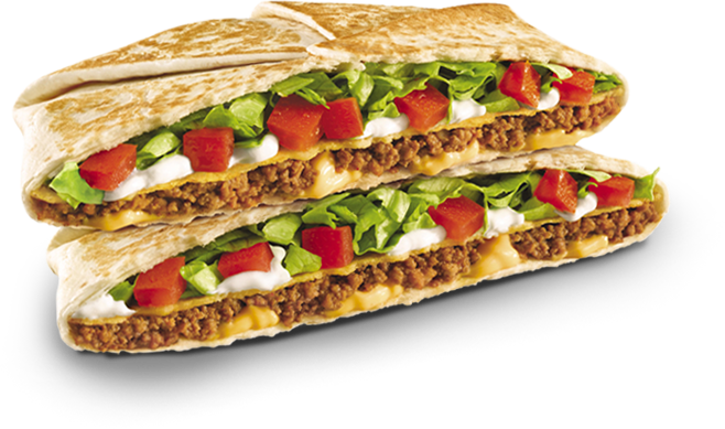 Taco Bell S Crunchwrap Supreme These Are Too Easy To Make At Home And Taste So Much Better Crunch Wrap Supreme Taco Bell Crunchwrap Supreme Crunch Wrap