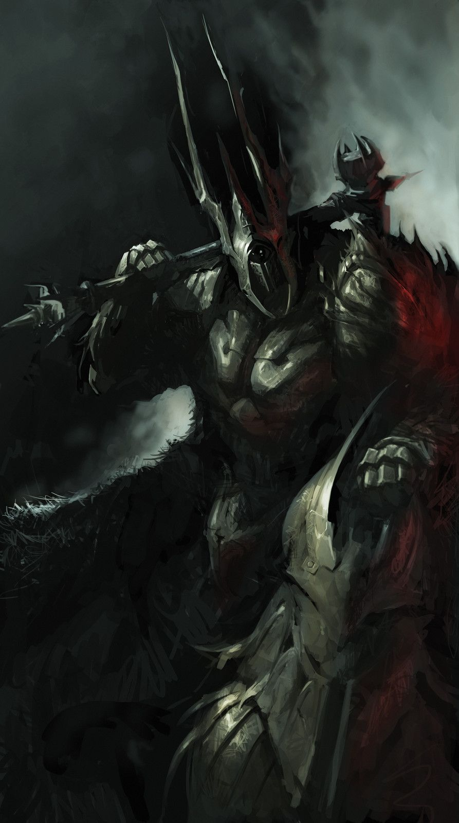 Fallen paladin, Lubomir Hij on ArtStation at https://www.artstation.com/artwork/bPbKd   Dark ...