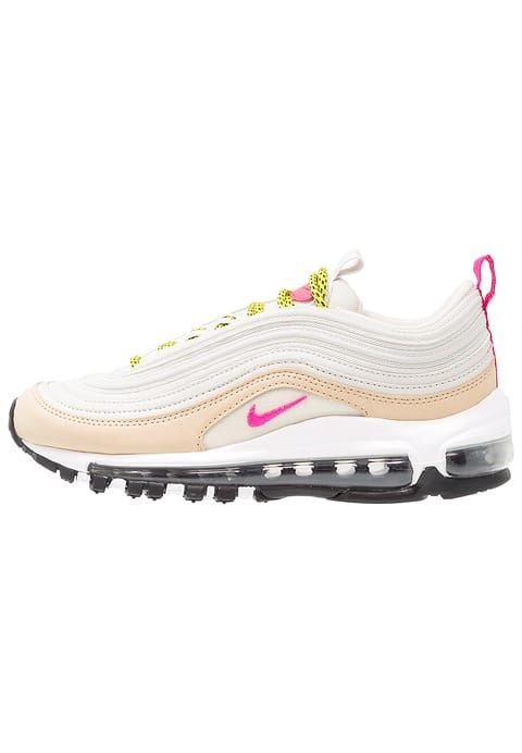 9997a464b8874 Nike AIR MAX 97 - Trainers - light bone deadly pink mushroom bright ...