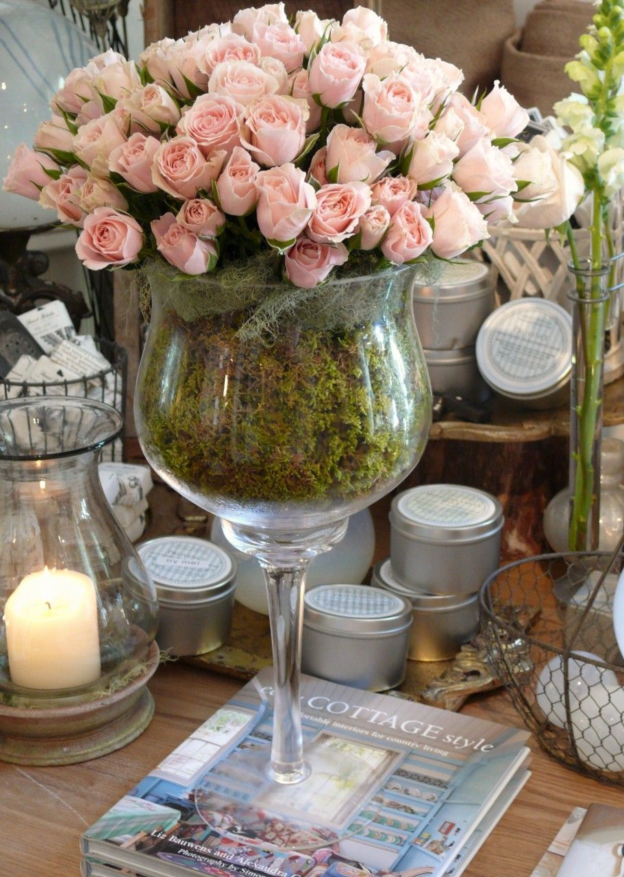 So french a big vase full of pink roses flower arrangements a big vase full of pink roses reviewsmspy