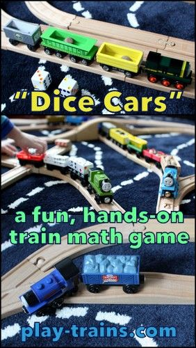 Dice Cars The Little Engineer S Favorite Train Math Game Math