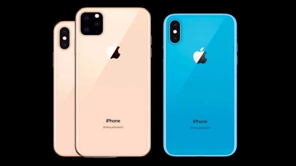 Apple's next iPhone 11 series can be given as a triple