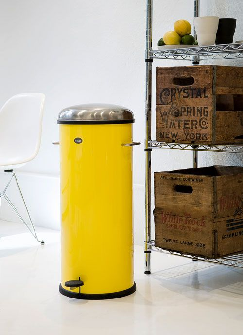 Les poubelles Vipp au couleur de New York | Maison | Kitchen decor ...