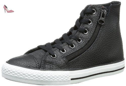Converse - Adulte Chuck Taylor All Star Salut Top Chaussures, EUR: 40, Black/White/Lava