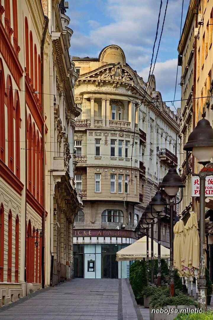 Vuka Karadzica Street Serbia Belgrade Serbia Belgrade