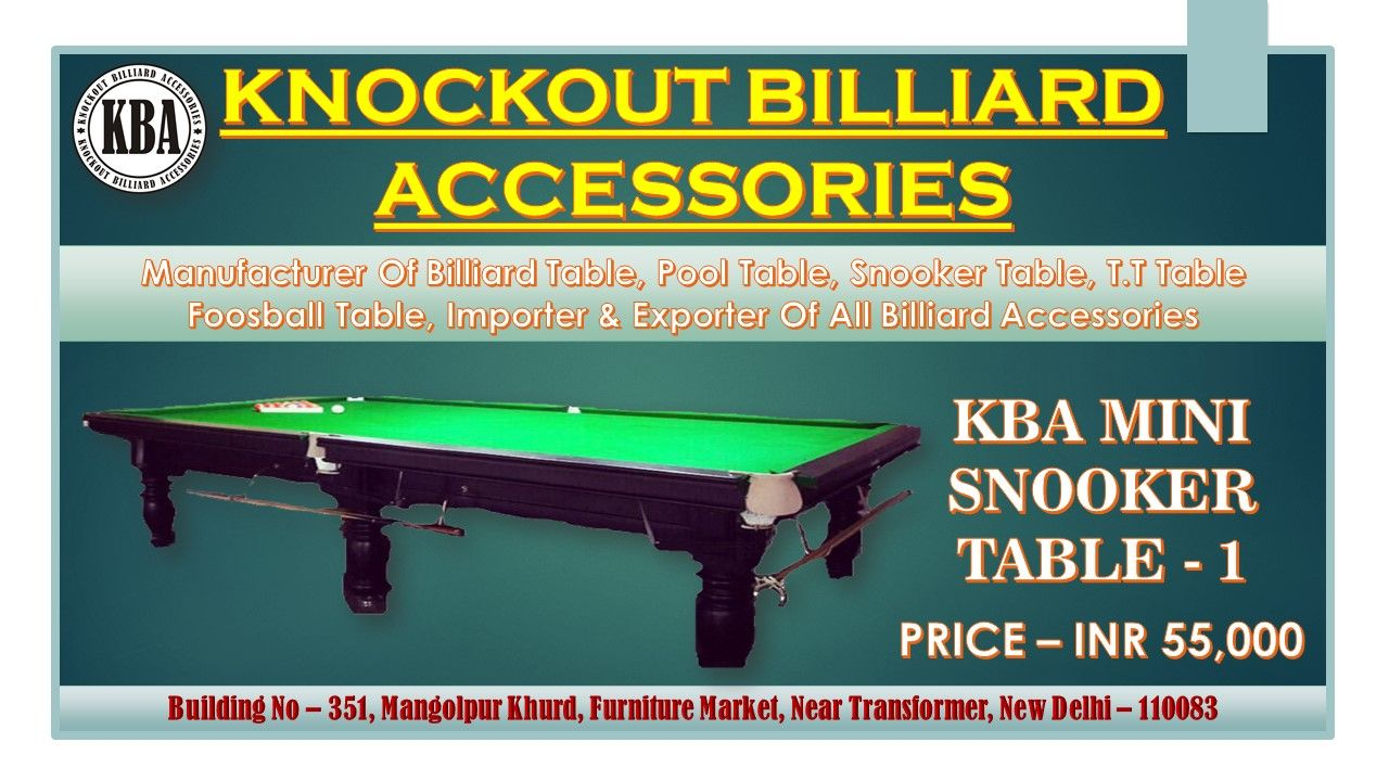 Kba Mini Snooker Table 1 10ft X 5ft Snooker Table Foosball Table Billiard Accessories