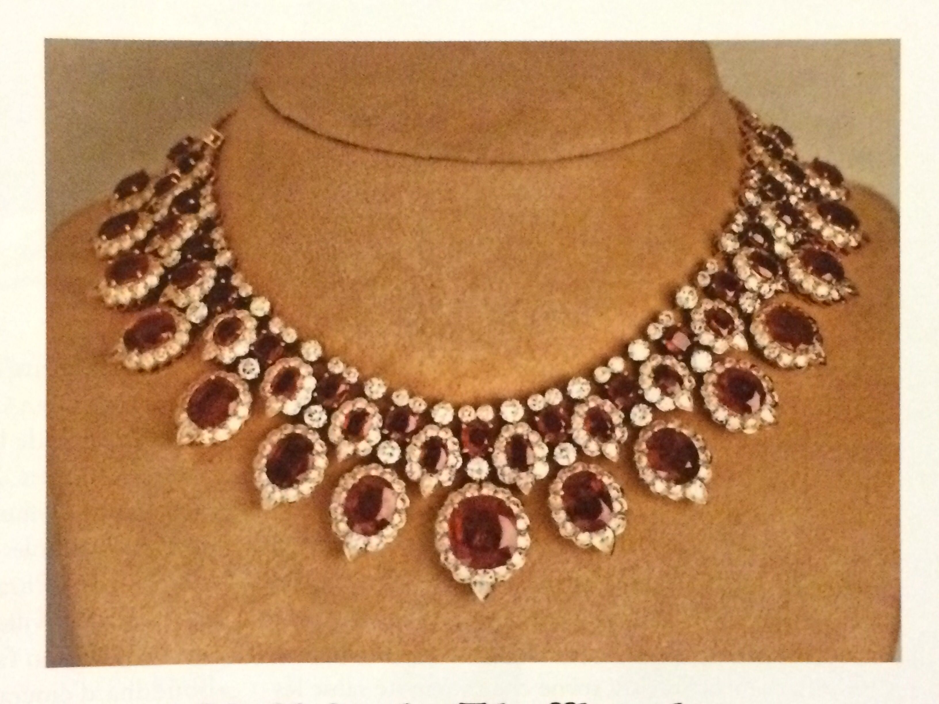 Ruby and diamond necklace by Van Cleef & Arpels belonged to HM Queen Sirikit, 1980s.