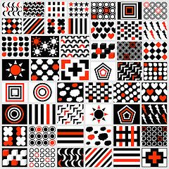 Black White Red Patterns For Your Newborn Free Printable