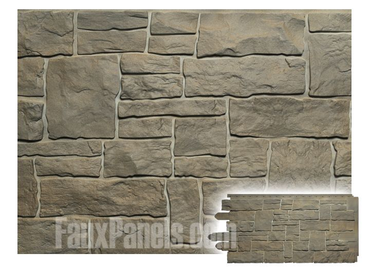 Novi Stone Wall Moka Panel W 45 3 8 H 20 1 2 3 4 Thick Stone Walls Interior Faux Stone Walls Stone Wall