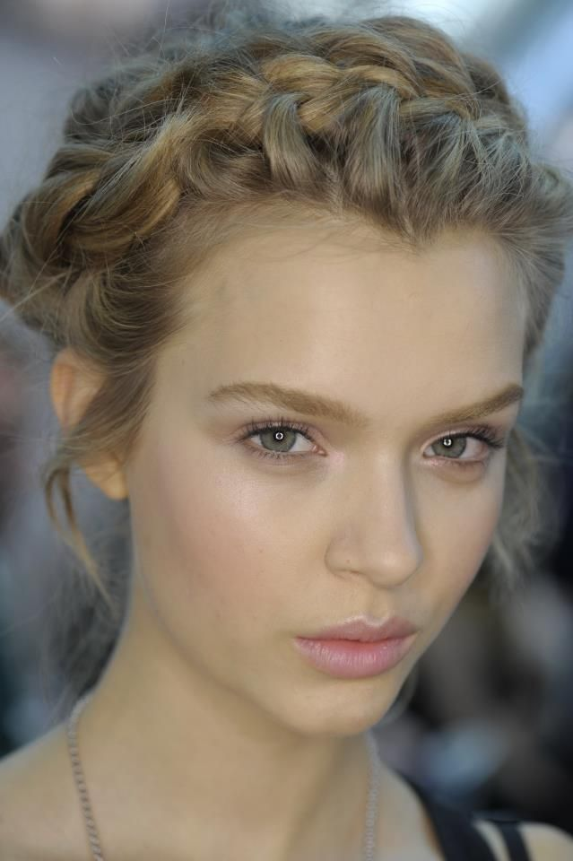 Peinado Peinados Pinterest Peinados Peinados Romanticos Y Trenza - Peinados-romanticos-con-trenzas