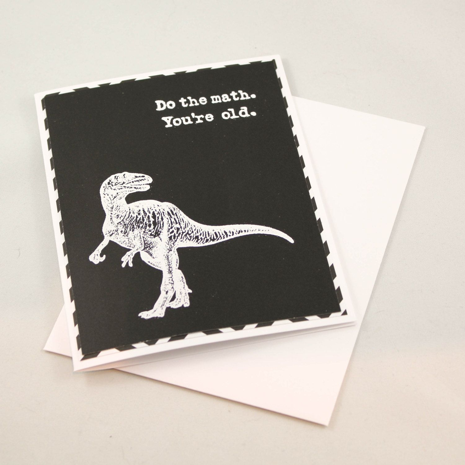 Birthday Card Funny Birthday Card Dinosaur Birthday Card Old