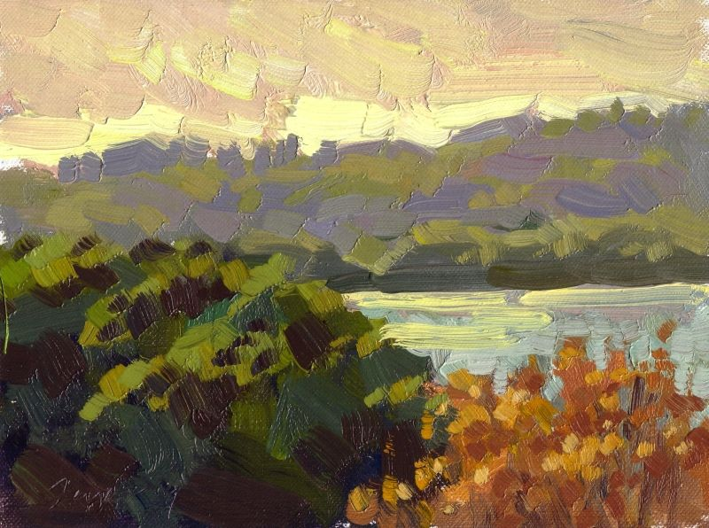 Ed Terpening My Oil Color Palette Life Plein Air