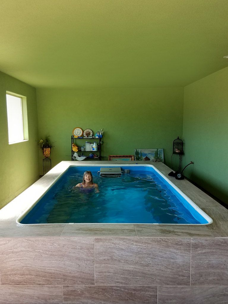 Look At This From Endless Pools Indoor Pool Design Endless Pool Swimming Pools