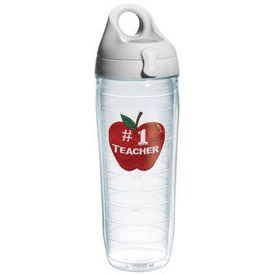 Tervis Tumbler Celebrate Life #1 Teacher Water Bottle