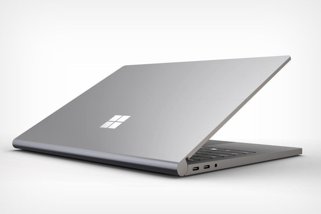 Microsoft Surface Book 4 Concept Bridges The Gap Between The Laptop And The 2019 Ipad Pro Microsoft Surface Book Microsoft Laptop Microsoft Surface Laptop