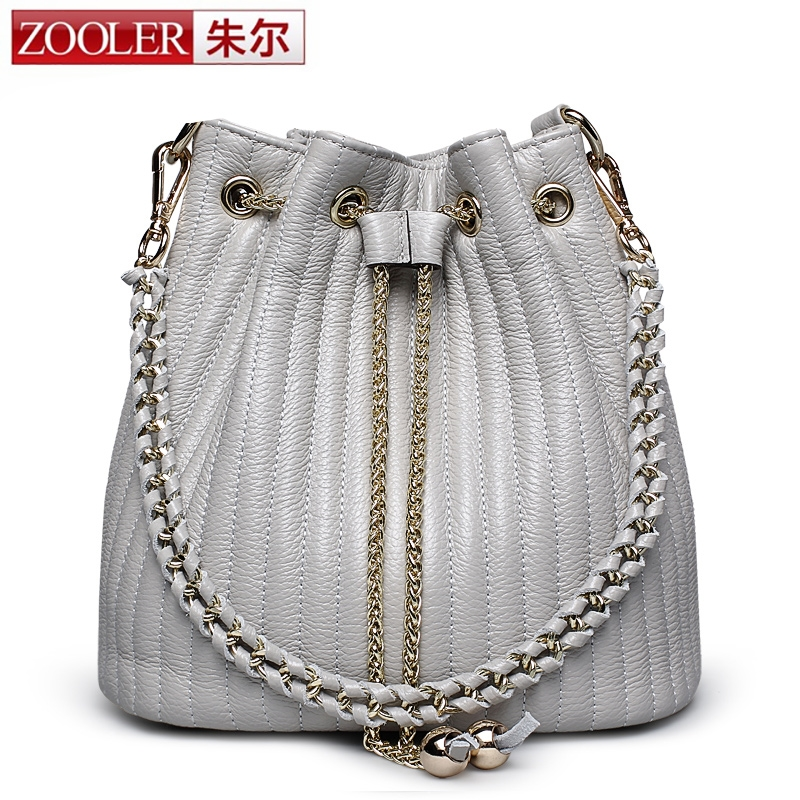 86.10$  Watch here - http://ali7ls.shopchina.info/go.php?t=32653297402 - 2017 Zooler Bucket bags woman shoulder bag ZOOLER genuine leather bags women messenger bag lady 2017 Classic bolsa Colors #2113 86.10$ #buychinaproducts