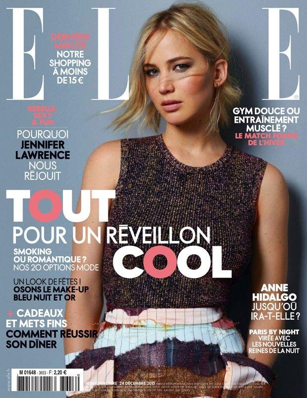 jennifer lawrence in elle france photo jennifer lawrence 2016 marie claire magazine celebrity magazines