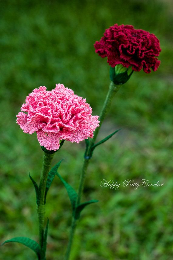 Regalo flor del ganchillo patrón Croche por HappyPattyCrochet ...