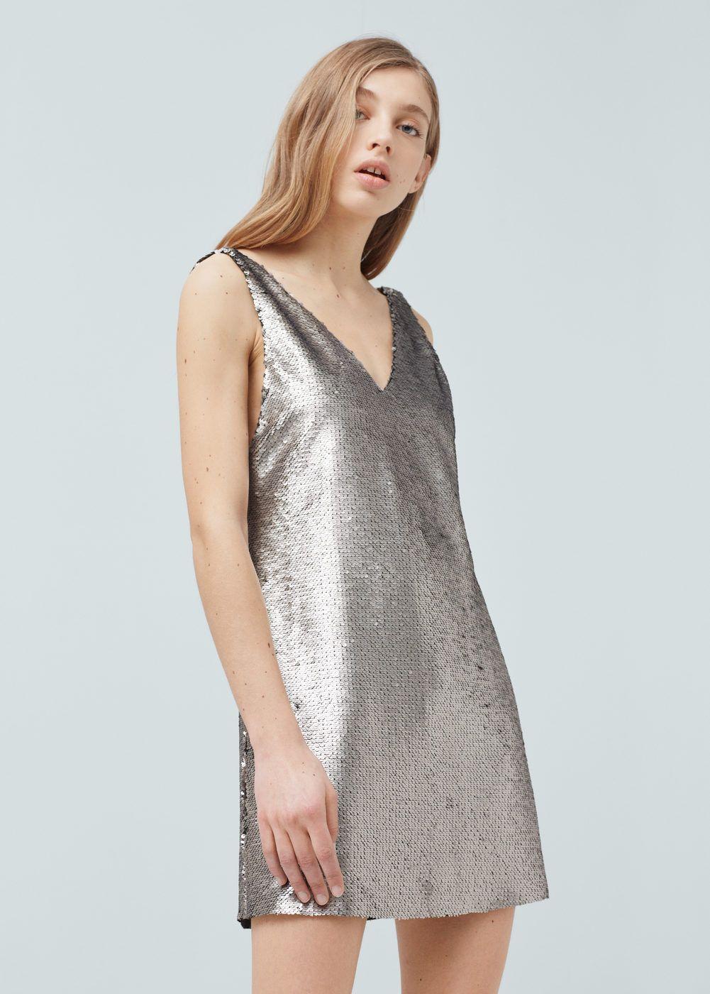 robe à sequins mango belgique et