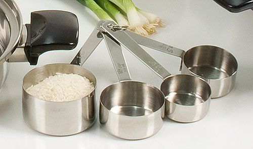 Stainless Steel Measuring Cups . $24.82