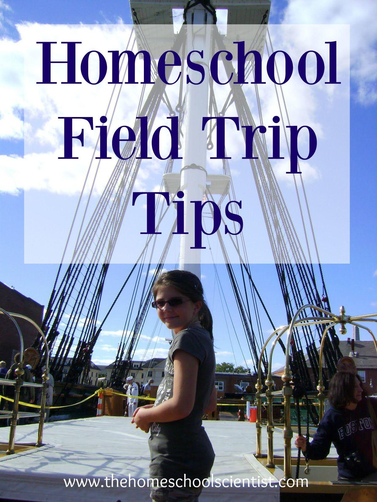 homeschool field trip tips