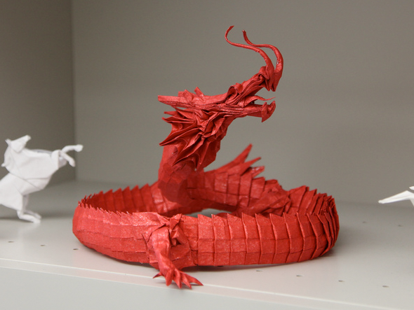 Chinese Dragon   DIY - PAPER CRAFT   Origami, Origami ...