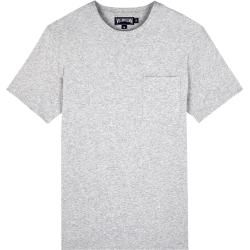 Photo of Men Ready to Wear – Solid Pima Cotton Jersey T-Shirt for Men – T-shirt – Teegus – Gray –