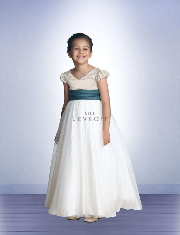 Flower Girl / Junior Bridesmaid Dress Style 60201 :: pride & prejudice wedding inspiration