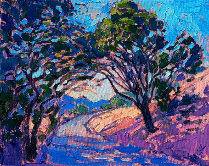 Paso Light Modern Impressionism Contemporary Landscape Painting Expressionist Painting Art Painting