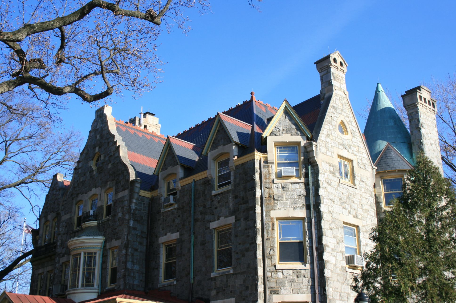 Philadelphia University - Ravenhill Mansion