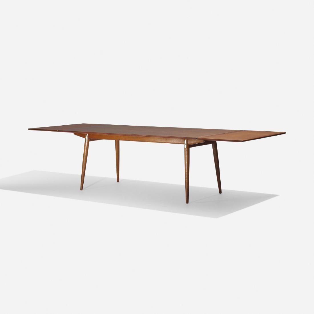 Hans J Wegner Johannes Hansen Dining Table Model Jh570