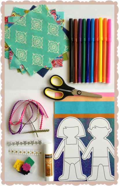 DIY dolls & crafts for kids $12Ponele color a tu vida!! @anatonia @elcolorcomunica @patygallardo