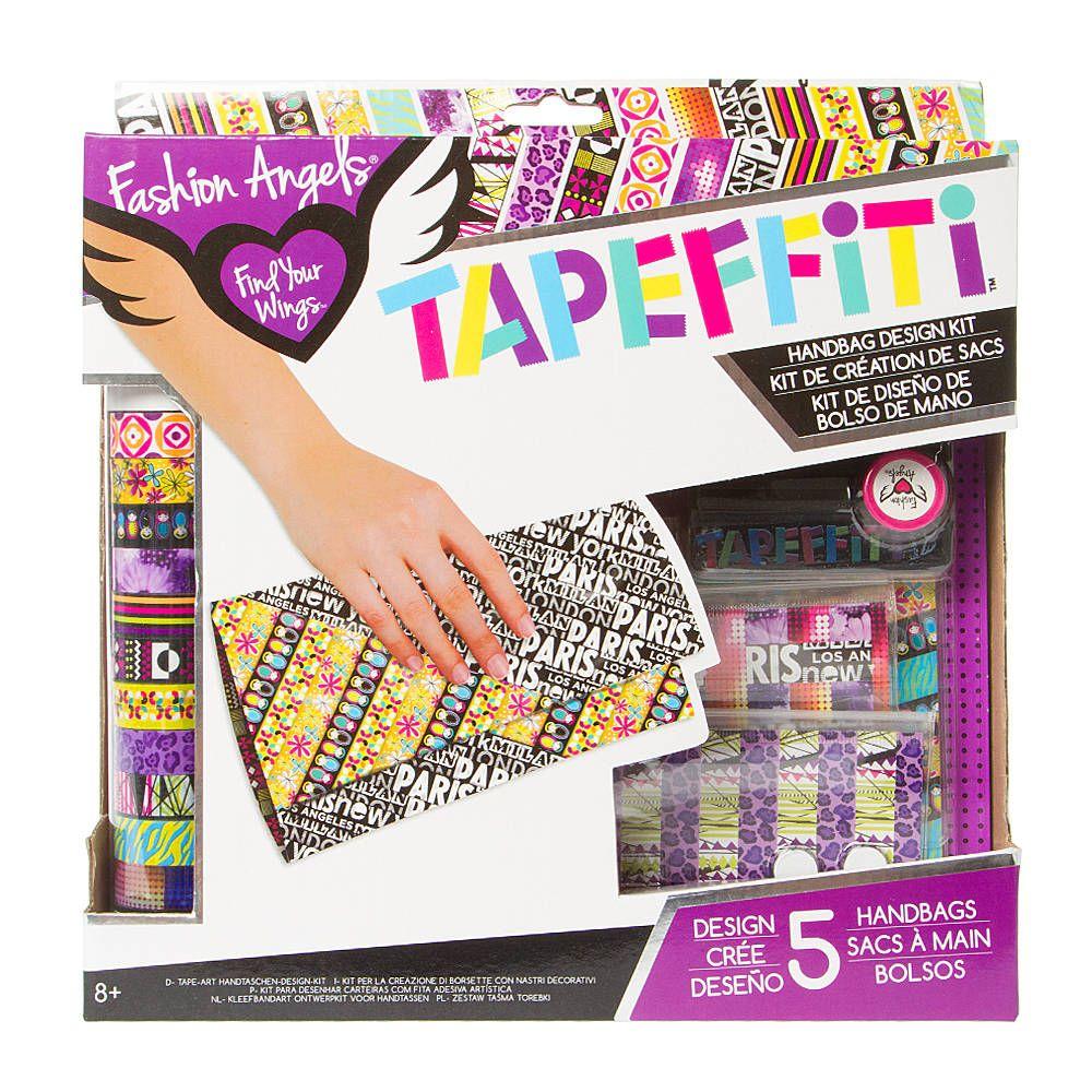 Fashion Angels Tapeffiti Handbag Design Kit Fashion Angels Tween Crafts Crafty Christmas Gifts