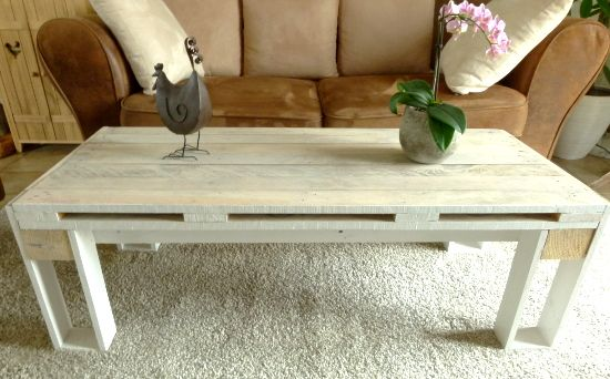 DIY - Table basse design en palette | DIY fabrication de meubles ...