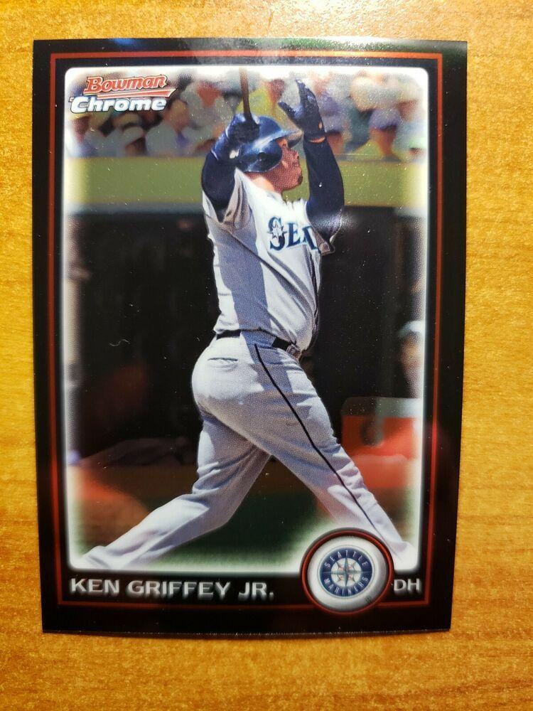 Ken Griffey Jr 2010 Bowman Chrome Baseball Card 155