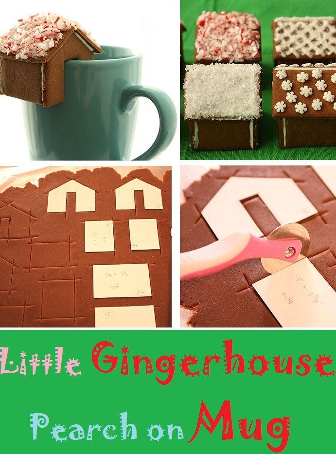 Little Gingerhouse Pearched On Mug – Cupcakepedia