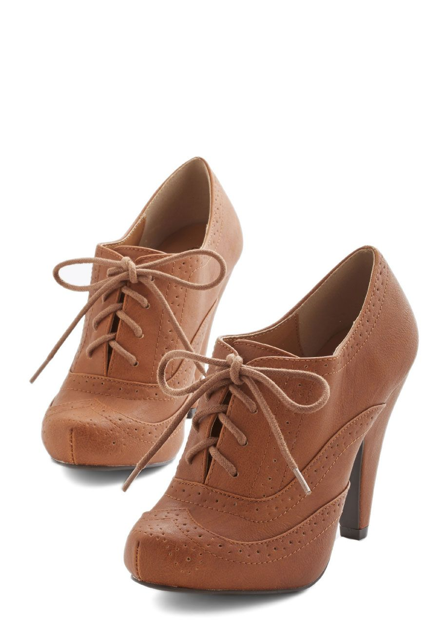 my how time wise flat brown pumps modcloth and pumps