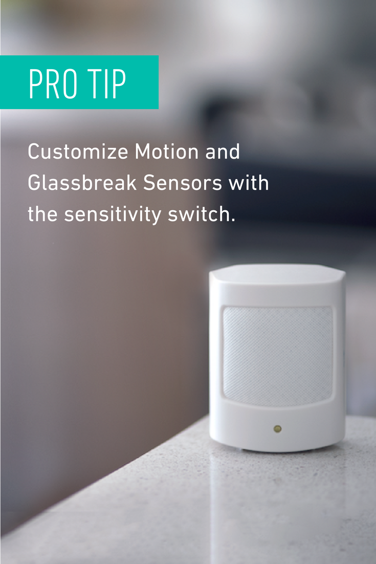 Simplisafe Is Created To Adjust To Your Needs This Sensitivity