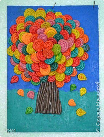 Осеннее дерево фото 2 | Осенние деревья, Детские поделки ...