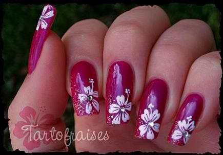 Tartofraise Nail Art Ongle Vernis Nail Art Pinterest Nail Trends