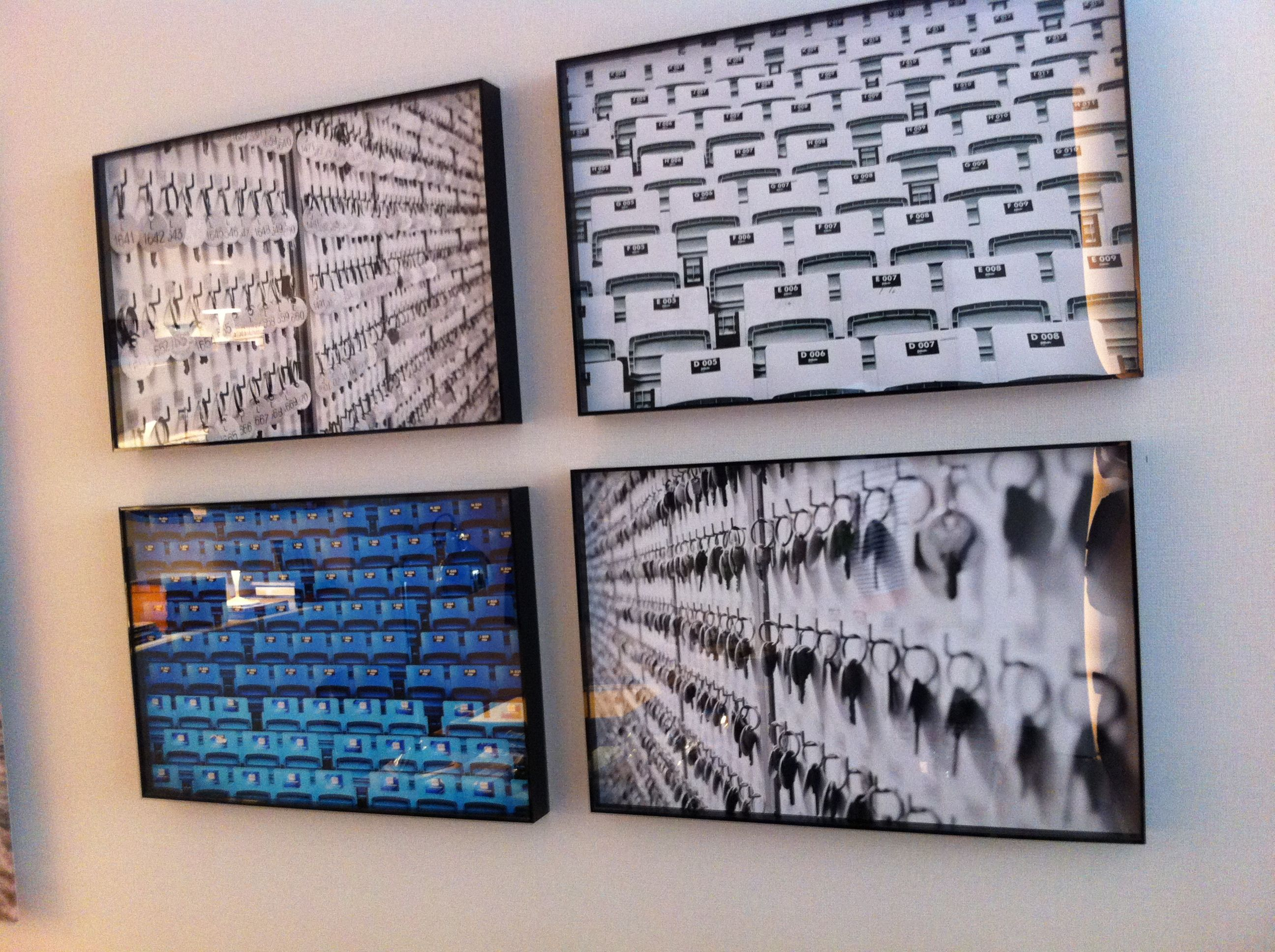 Mais fotos que formam mosaicos Casa Cor 2013