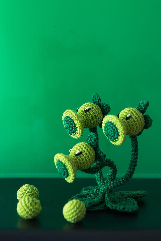 Plants Vs. Zombies crochet by Aradiya | Geektacular | Pinterest ...