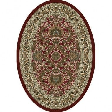 Milliken Innovation Carved Akhisar Cranberry Antique Oval Rug 7029c 10800 293 Oval Rugs Rugs Area Rugs